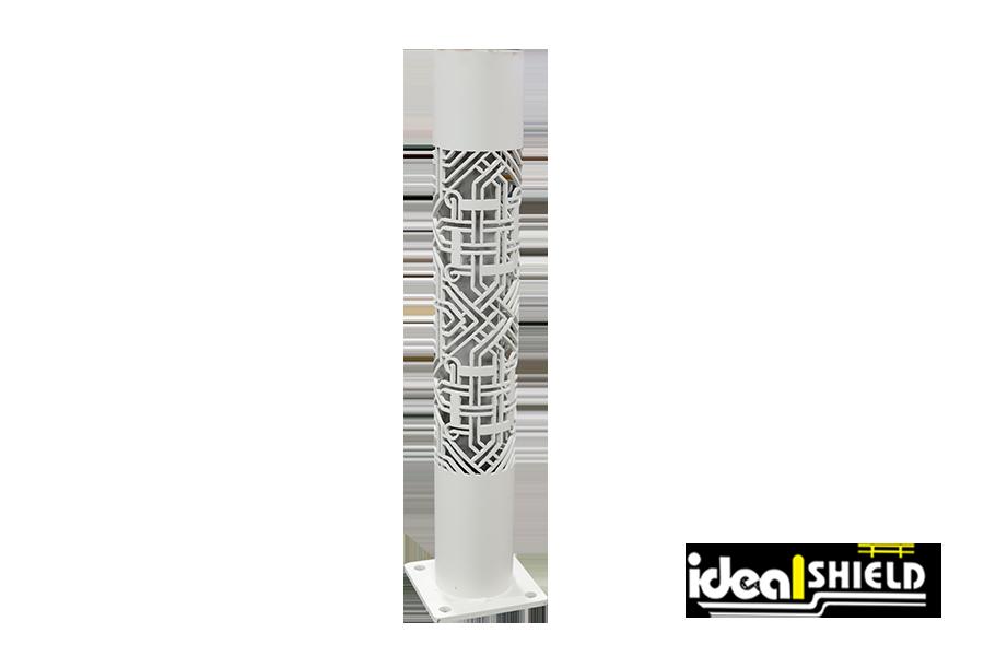 Ideal Shield's Custom Steel Cutting: Designer Bollard Post
