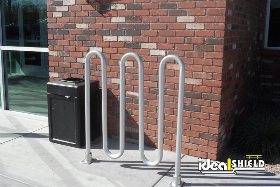Ideal Shield's Aluminum Bike Rack