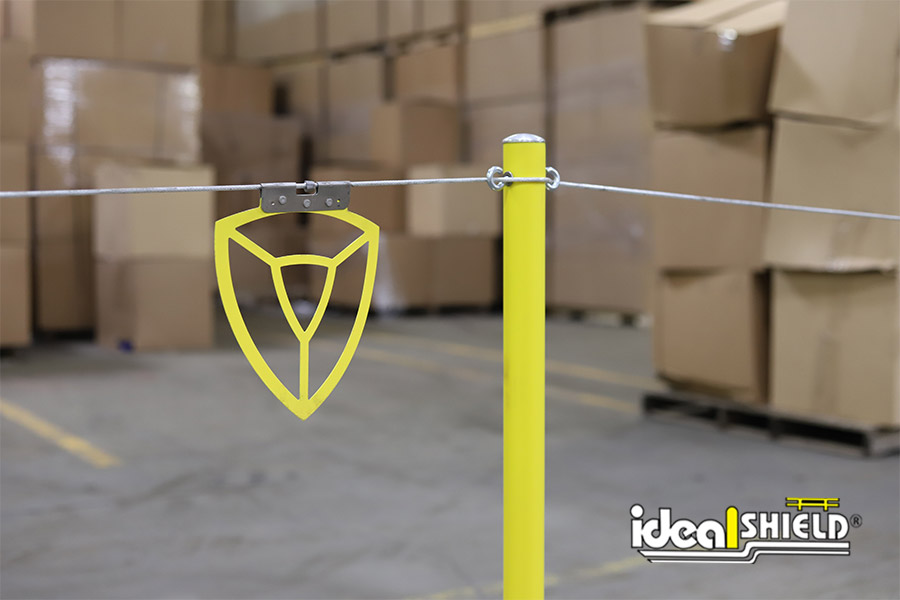 Ideal Shield's Warning Line System