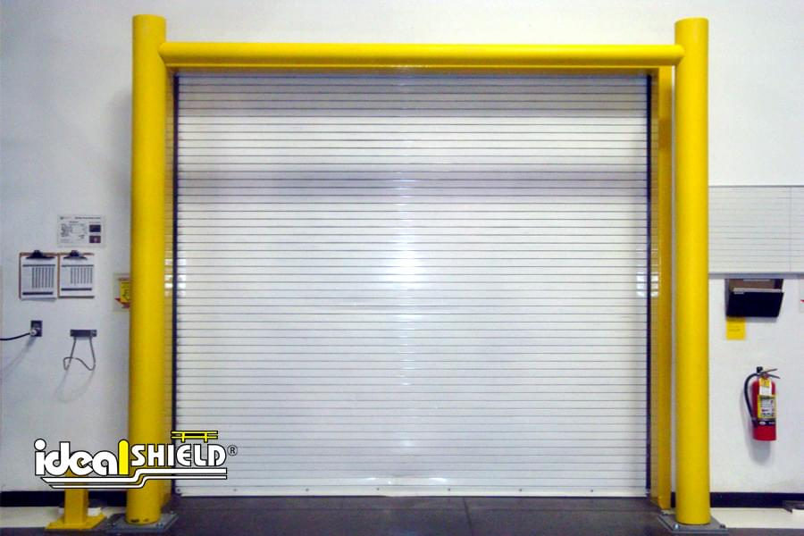 Ideal Shield's overhead door Goal Posts