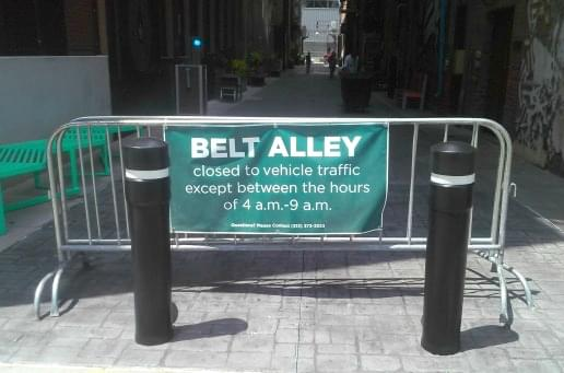 The Belt Alley finished 1 sm