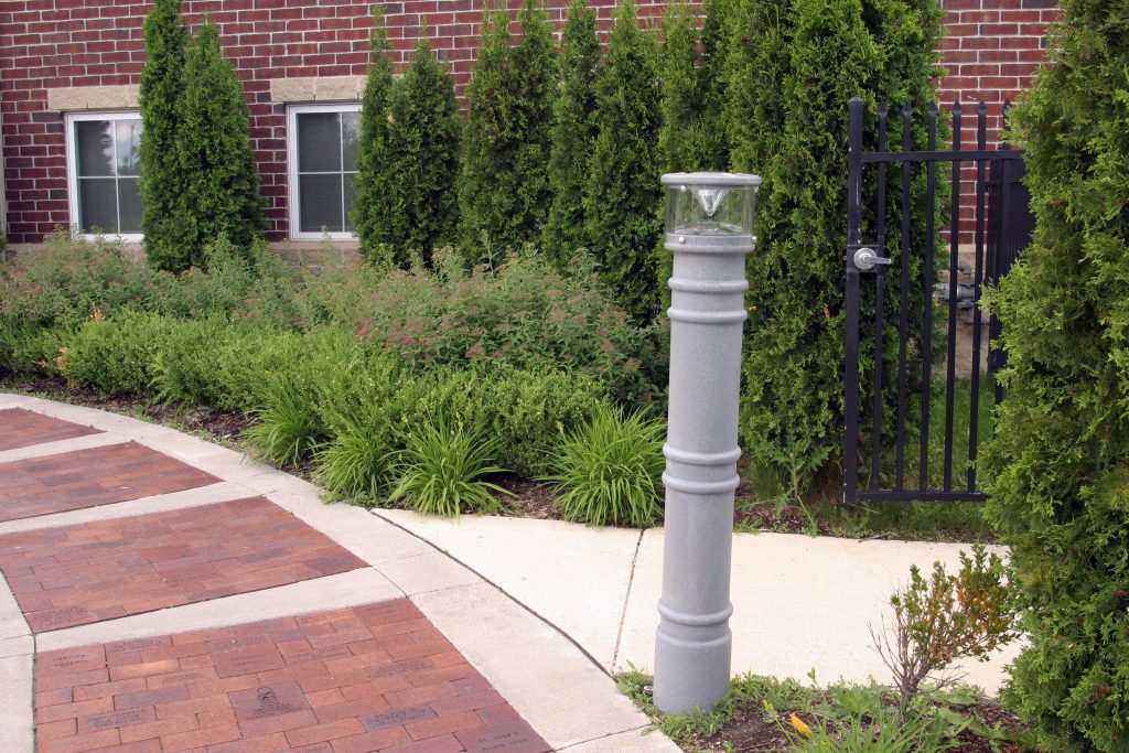 Ideal Shield's UV Lighted Bollard Covers