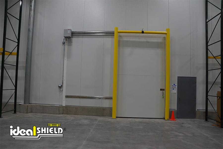 Ideal Shield's Goal Post guarding Produce Warehouse
