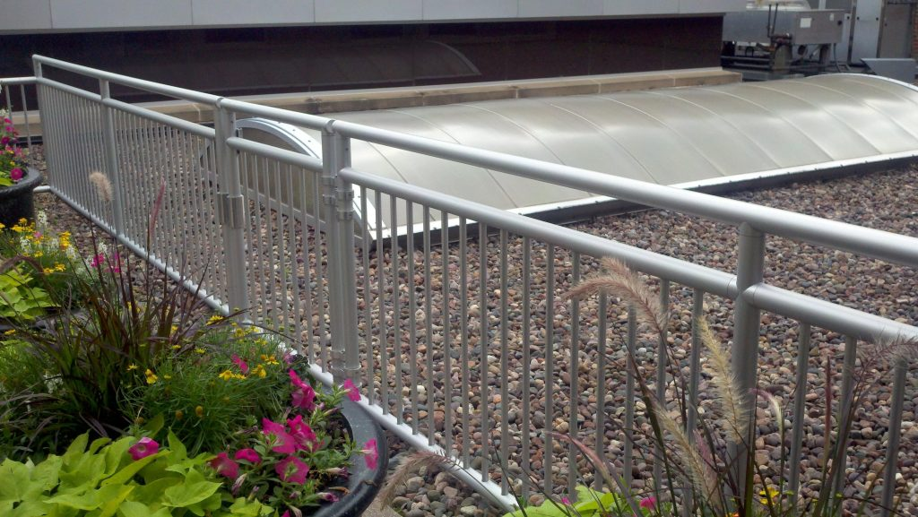 Ideal Shield's Aluminum handrail
