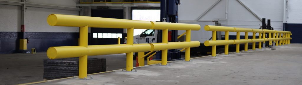 Ideal Shield Heavy Duty Industrial Guardrail