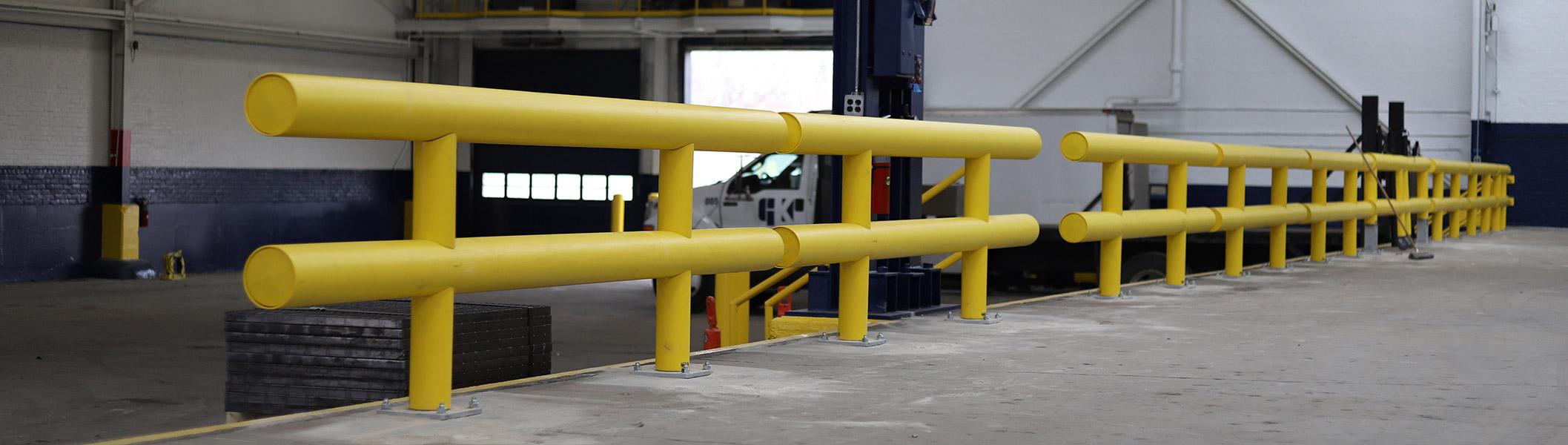Ideal Shield Heavy Duty Industrial Guardrail