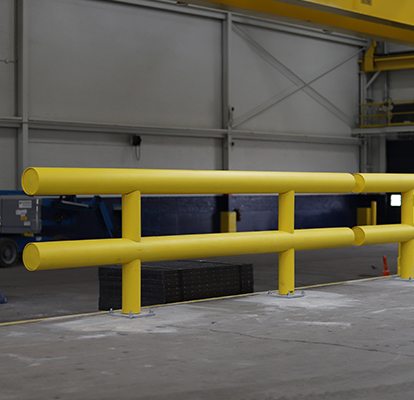Ideal Shield's Heavy Duty Guardrail