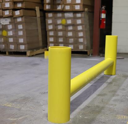 Ideal Shield's Rack System Guardrail