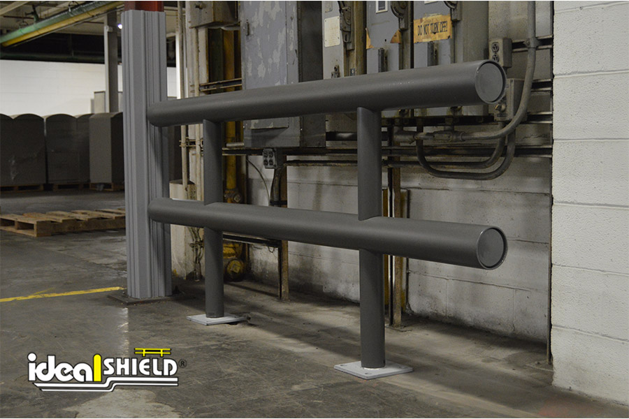 Ideal Shield's Gray Standard Guardrail