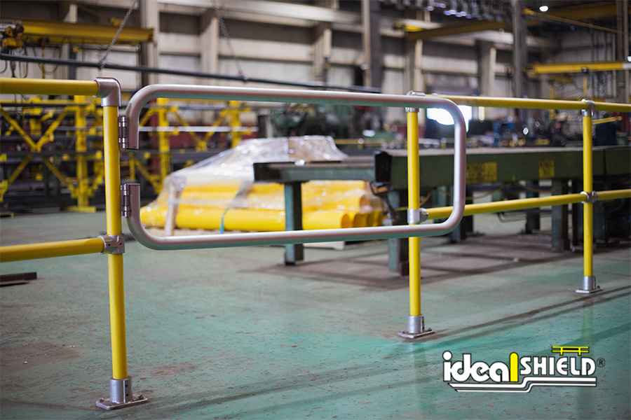 Ideal Shield's Handrail Swing Gates are great for temporary access